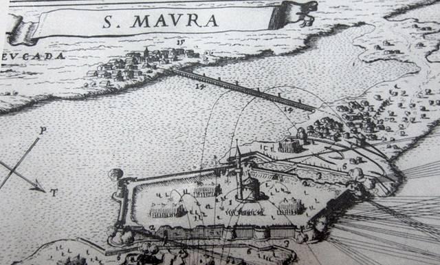 Η περιοχή του Κάστρου και της Αμαξικής την εποχή της Τουρκοκρατίας2 (από τη συλλογή των Σπύρου και Μαίρης Σταύρου).