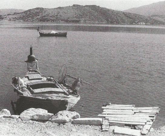 Ψαρόβαρκα στη Λυγιά 1972
