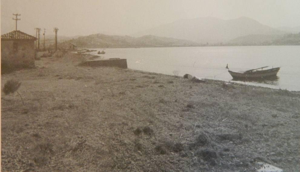Αλυκές Αλεξάνδρου Λευκάδας. Ζυγιστήριο μετά προβλήτας στη ΝΑ πλευρά των αλυκών 1999. ( Φωτογραφικό αρχείο Δ.Βλάχου)