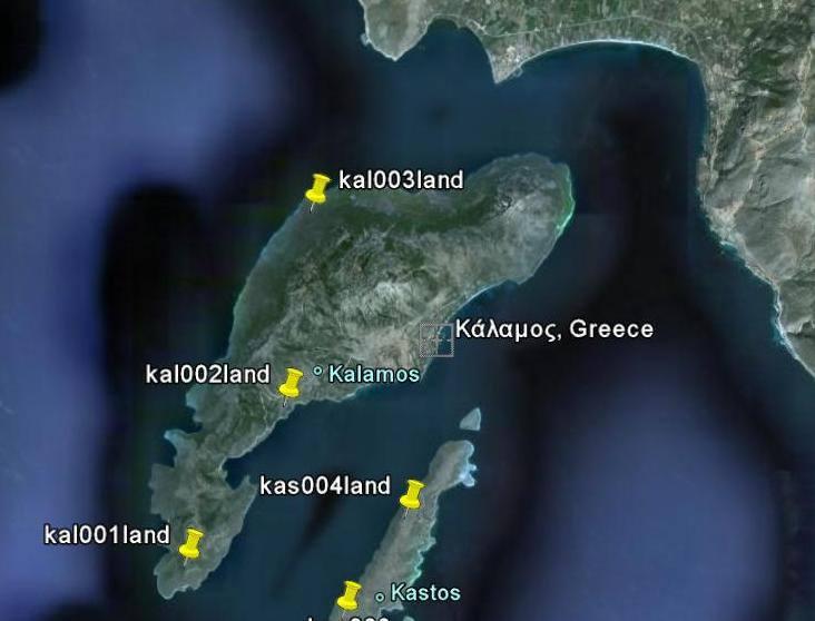 Τα ομηρικά νησιά των Ταφίων: Ο Κάλαμος και ο Καστός
