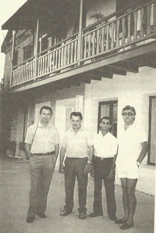 Οι αδερφοί Στεργιώτη, από αριστερά: Τηλέμαχος, Κώστας, Μήτσος, Τέλης