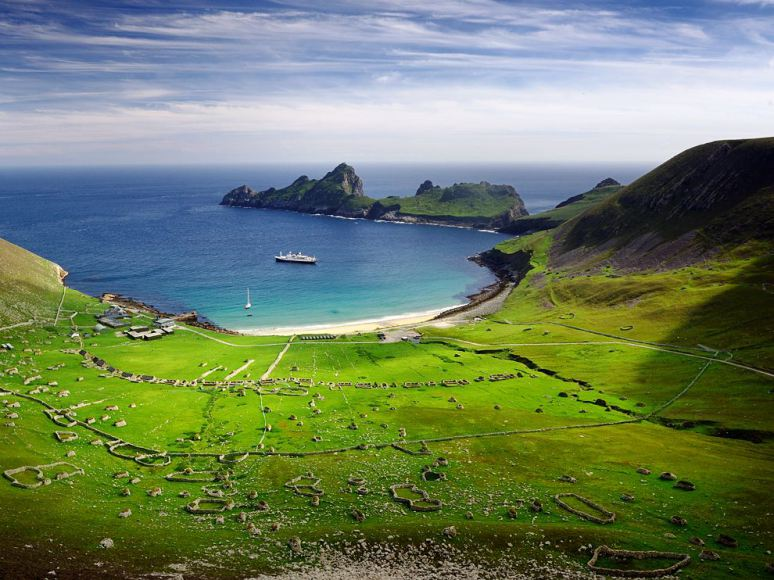 ST. KILDA, OUTER HEBRIDES, SCOTLAND, UK