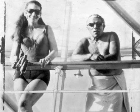 Με την Μαρία Κάλλας στη θαλαμηγό Χριστίνα