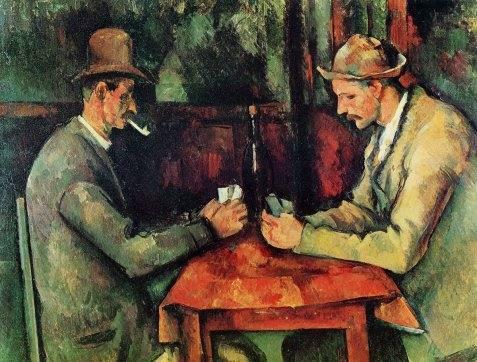 Πολ Σεζάν - «Οι χαρτοπαίχτες» (1894-95)