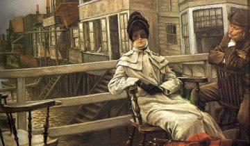 James Tissot, Περιμένοντας το πλοίο. 1878. Ιδιωτική Συλλογή.