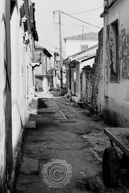 Φωτογραφία της Καίτης Κακαβούλη από την οδό Σταύρακα Πανάδα