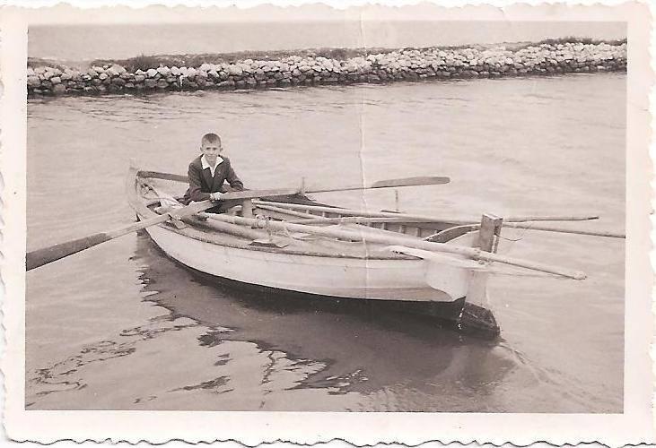 Ο Γιάννης Γιαννουλάτος, καπετάνιος από μικρός!