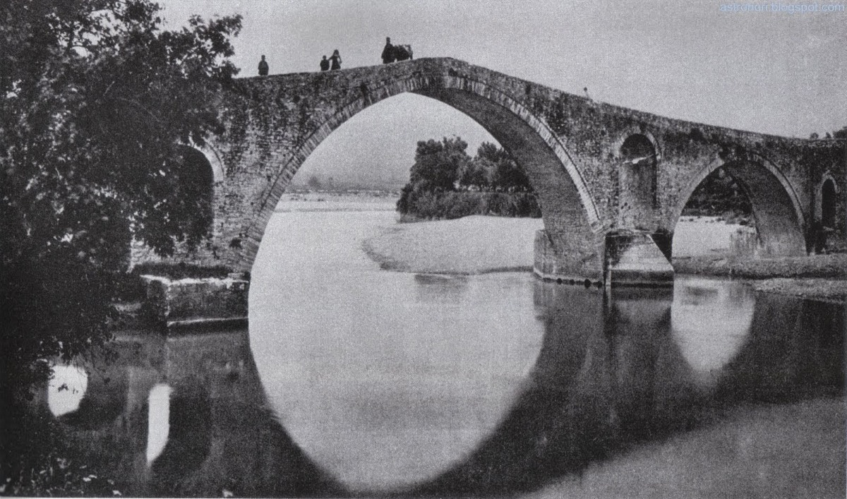 """1900 Το Γεφύρι της Άρτας - Από το βιβλίο του Fred Boissonnas """"L' Epire Berceau desGrecs"""""""