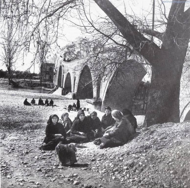 1950 Το Γεφύρι της Άρτας - Φωτογραφικό Αρχείο Εθνικού Μουσείου Μπενάκη