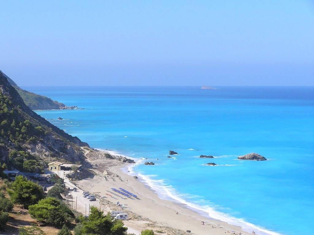 Αποτέλεσμα εικόνας για Λευκάδα παραλία καθισμα