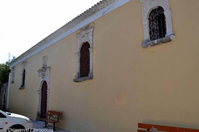 Στα Ψαρέικα. Ιδρύθηκε το 1688 με πρωτοβουλία του Ηγούμενου της Κόκκινης Εκκλησιάς Θεοφάνη Δανιά, Τη σημερινή του μορφή πήρε μετά από πολλές ανακατασκευές το 1825.