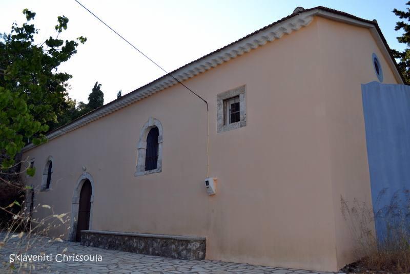 Ο ενοριακός των Κατωποδαίων. Χτίστηκε το 1872.