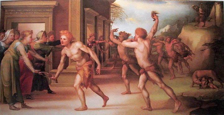 Λουπερκάλια Γιορτή των Λουπερκάλιων Φλωρεντία 1519 .