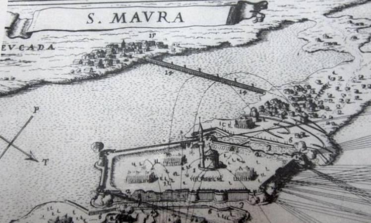 Η περιοχή του Κάστρου και της Αμαξικής την εποχή της Τουρκοκρατίας