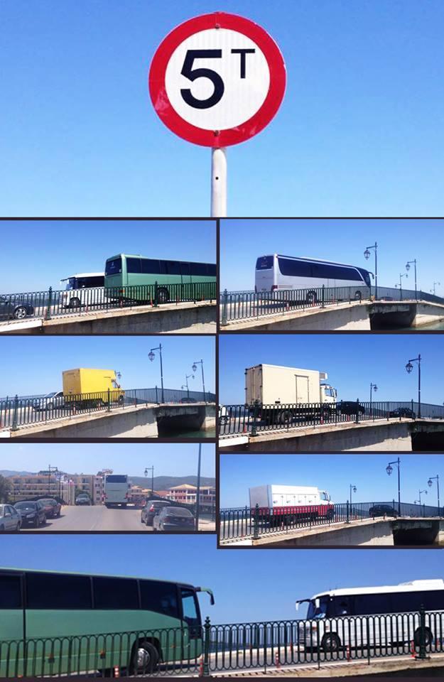 """Ονομαστική ρύθμιση κυκλοφορίας! Η συγκεκριμένη πινακίδα απαγορεύει τη διέλευση των οδηγών που το επίθετό τους περιέχει 5 """"Τ"""". Καινοτομία - Πρωτοπορία - Όραμα"""