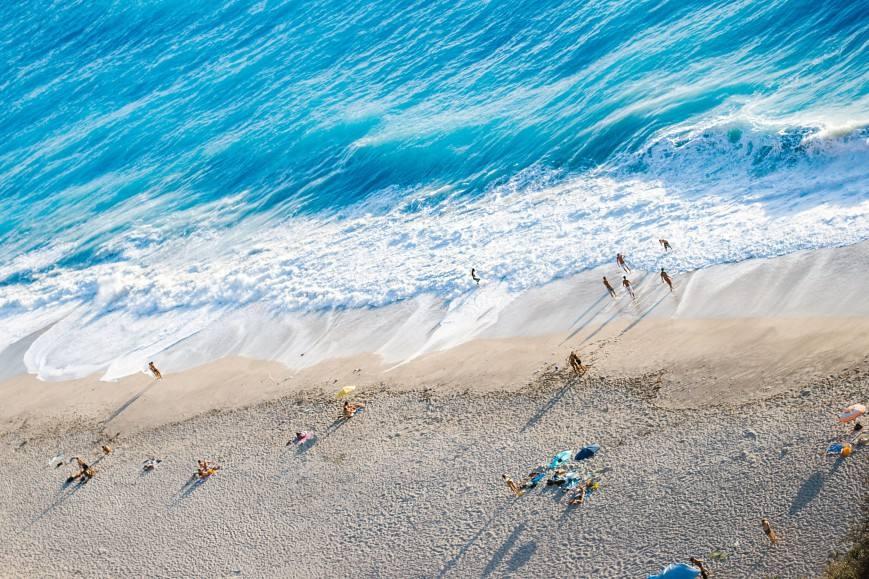 Τα φανταστικά νερά του Μύλου στον Άγιο Νικήτα. Φωτο: Πάρις Ταβιτιάν/LIFO