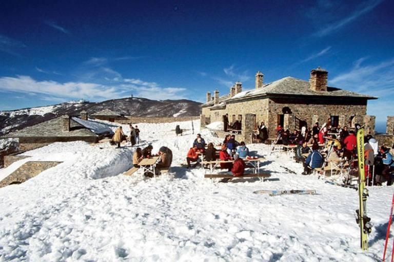 Πήλιο, Χιονοδρομικό στα Χάνια