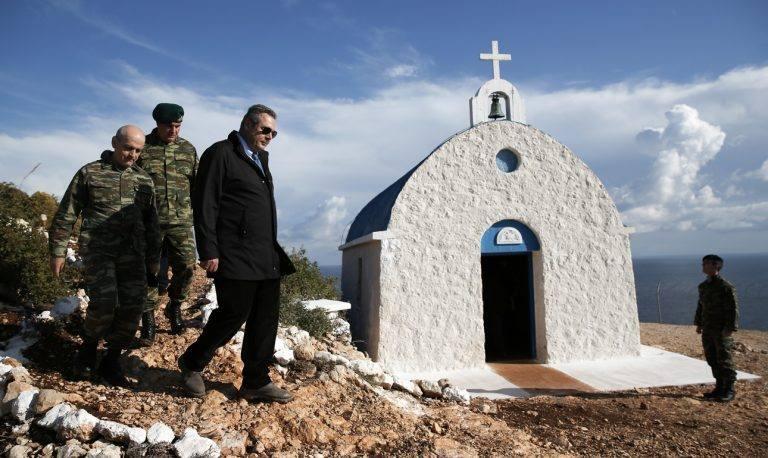 Η εικόνα που θα μπορούσε να χρησιμοποιηθεί στην καμπάνια του ΕΟΤ με θέμα «Ζήσε τον Μύθο σου στην Ελλάδα»