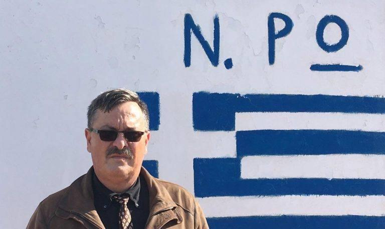 Ο Χρήστος Παππάς μάλλον θα κορνιζώσει αυτή τη φωτογραφία. Δίπλα σε εκείνη που χαιρετάει ναζιστικά. Εξάλλου και στις δύο έχει το ίδιο χτένισμα